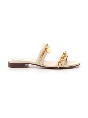 Chloé Embellished Strap Sandals