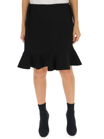 Chloé High Waisted Ruffle Hem Skirt