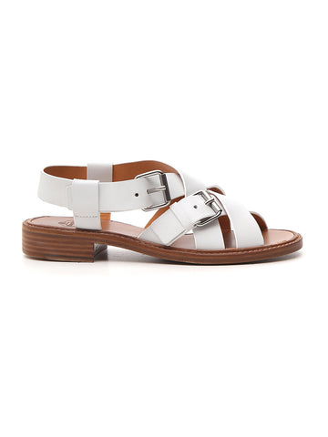 Church's Crossed Strap Buckle Sandals