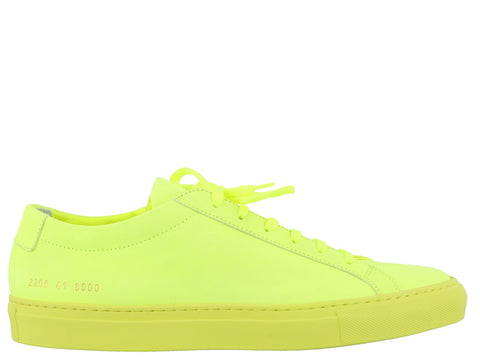 Common Projects Fluorescent Tennis Shoes
