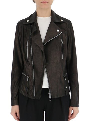 Desa 1972 Zipped Biker Jacket