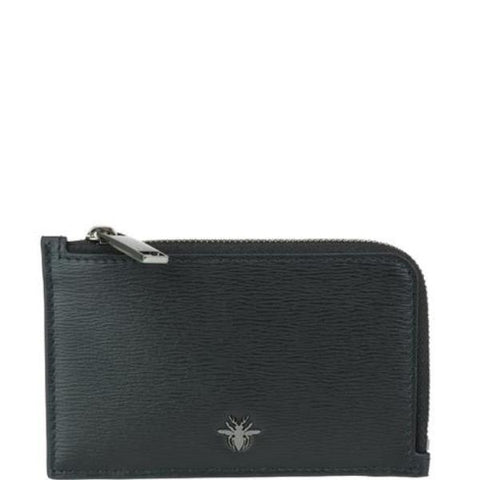 Dior Homme Bee Zipped Wallet