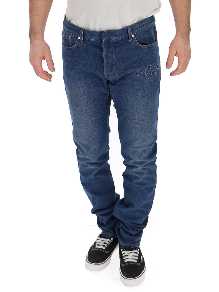 Dior Homme Jeans DIOR HOMME STRAIGHT LEG JEANS