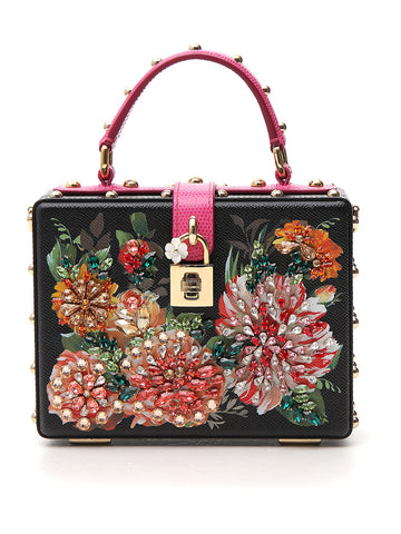 Dolce & Gabbana Floral Top Handle Bag