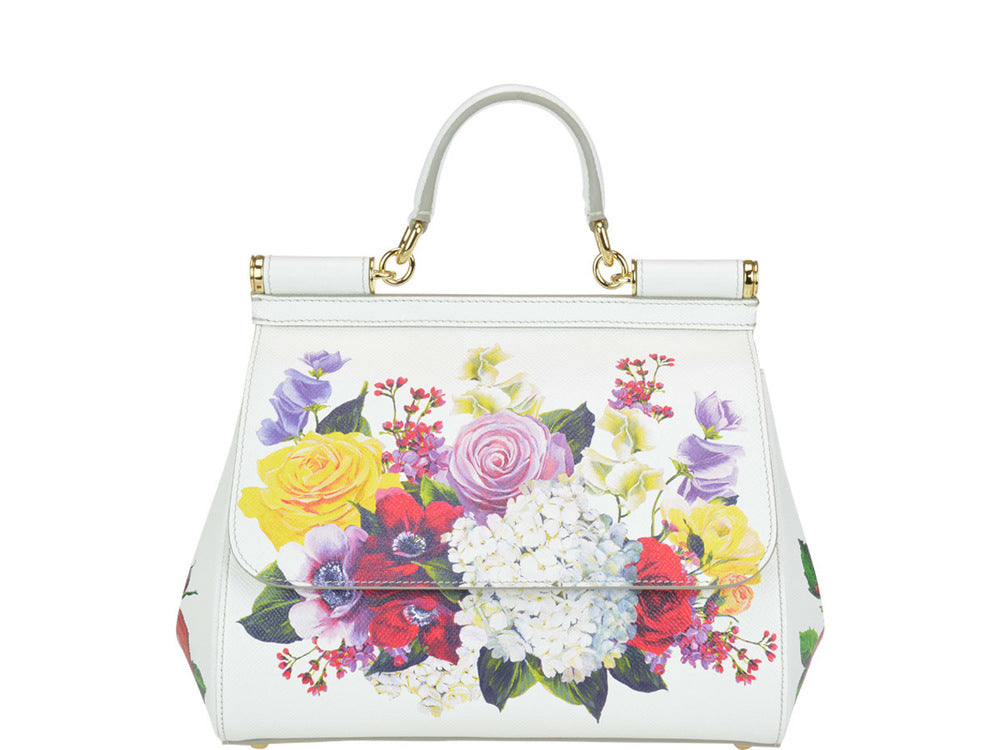 Dolce   Gabbana Floral Top Handle Tote Bag – Cettire 94d02bac48fd5