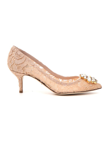 Dolce & Gabbana Bellucci Lace Pumps