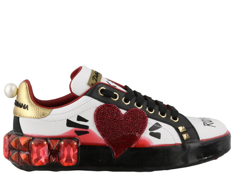 Dolce & Gabbana Embellished Sneakers