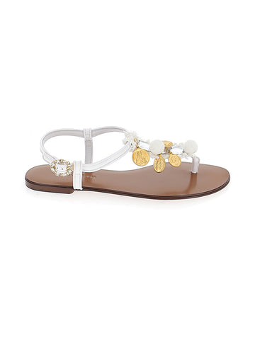 Dolce & Gabbana Coin Detail Sandals