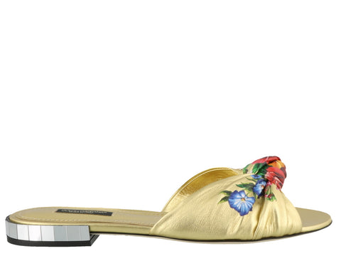 Dolce & Gabbana Floral Detailed Slides