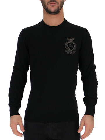 Dolce & Gabbana Logo Embroidered Pullover