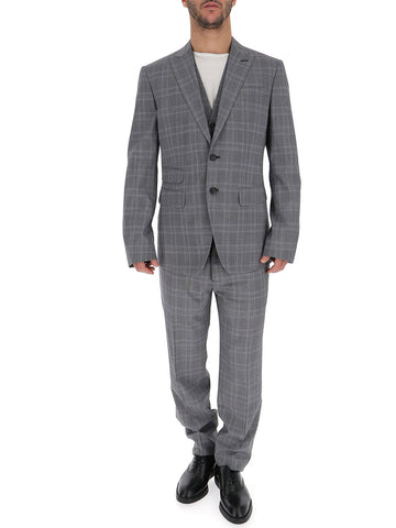 Dsquared2 Check Three-Piece Formal Suit