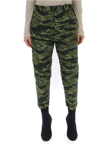 Dsquared2 Camouflage Print Cropped Pants