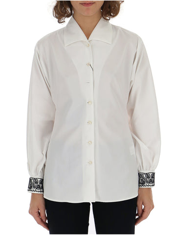 Etro Embroidered Cuff Shirt