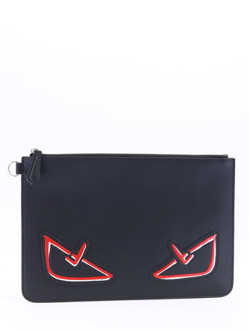 Fendi Bugs Eye Clutch Bag