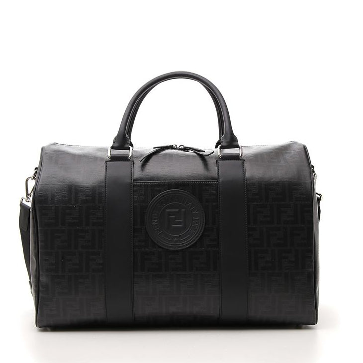 00bbb1409fd5 Fendi FF Monogram Satchel Bag – Cettire