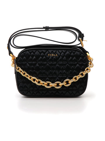 Furla Cometa Mini Quilted Crossbody Bag