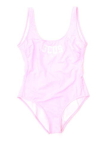 GCDS Logo Full-Piece Swimsuit
