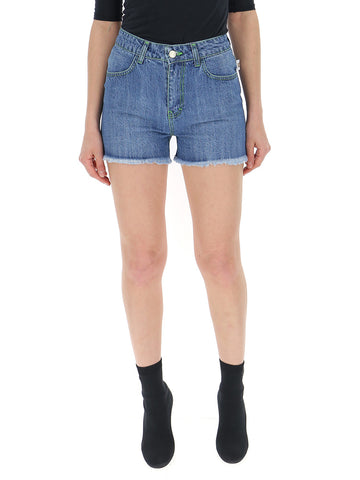 GCDS Frayed Denim Short