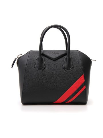 Givenchy Antigona Small Striped Tote Bag