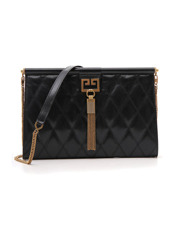 Givenchy Medium Gem Quilted Clutch