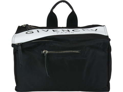 Givenchy Logo Structured Messenger Bag