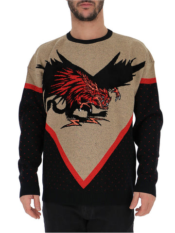 Givenchy Printed Knitted Jumper