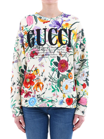Gucci Floral Logo Sweater