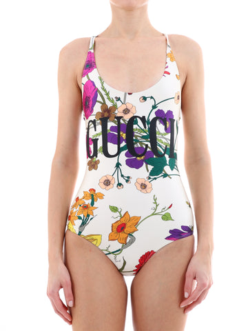 Gucci Floral Logo Swimsuit