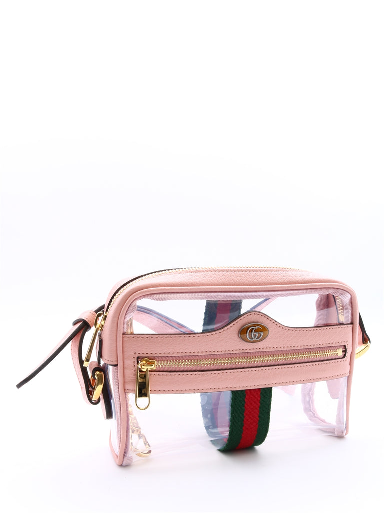 0d64ca1430cb Gucci Ophidia Mini Transparent Shoulder Bag – Cettire