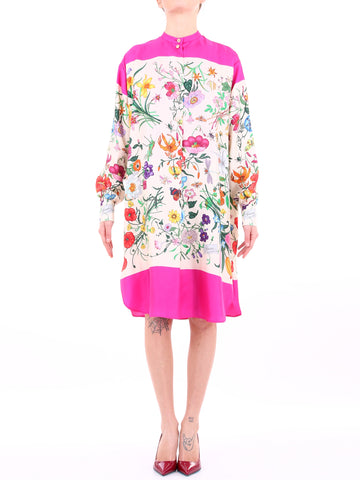 Gucci Floral Printed Dress