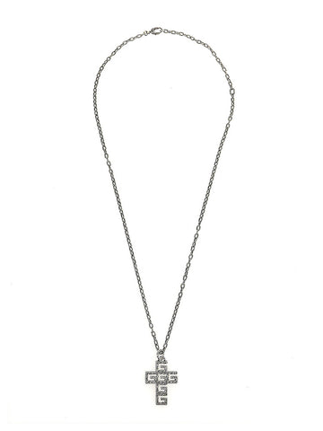 Gucci G Cross Pendant Necklace