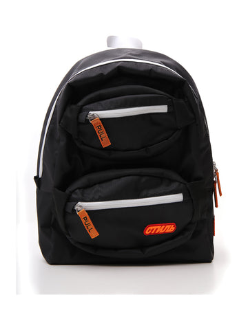 Heron Preston Zipped Logo Backpack