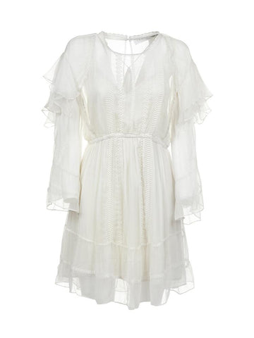 IRO Western Ruffled Mini Dress
