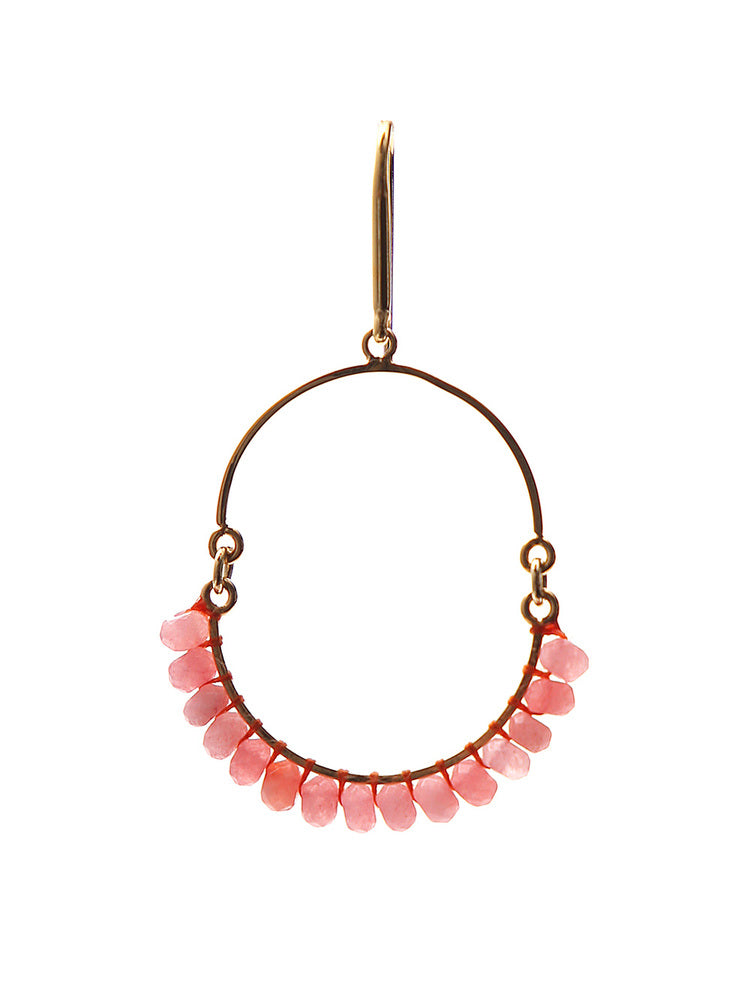 Etoile Isabel Marant Accessories ISABEL MARANT ÉTOILE STONE EMBELLISHED EARRINGS