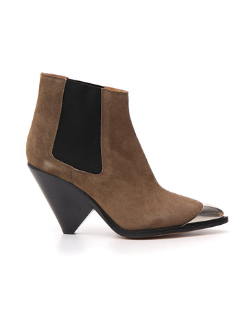Isabel Marant Étoile Sculpted Heel Ankle Boots