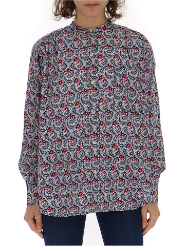 Isabel Marant Étoile All-Over Print Shirt