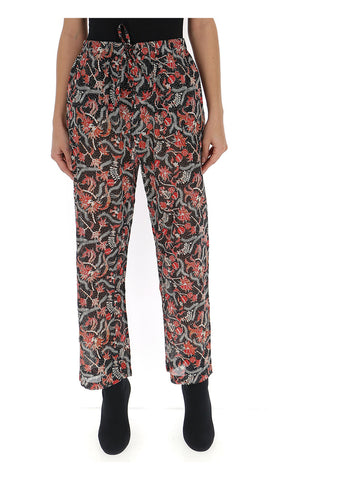 Isabel Marant Étoile Printed Cropped Pants