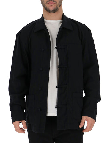 Issey Miyake Collared Chinese Button Jacket