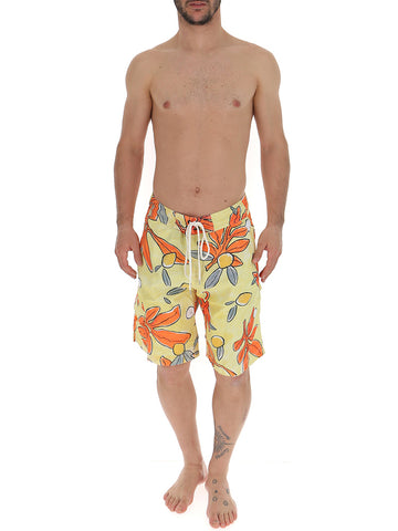 Jacquemus Le Surfer Drawstring Swimming Shorts