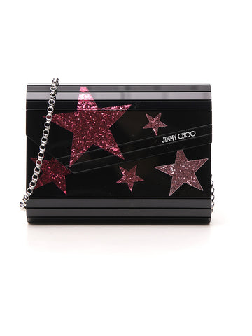 Jimmy Choo Candy Star Detail Clutch Bag