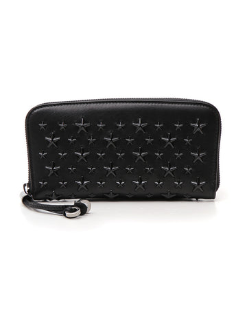 Jimmy Choo Filipa Star Studded Wallet