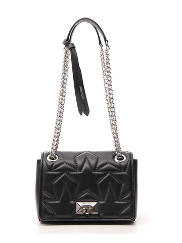Jimmy Choo Helia Quilted Star Shoulder Bag