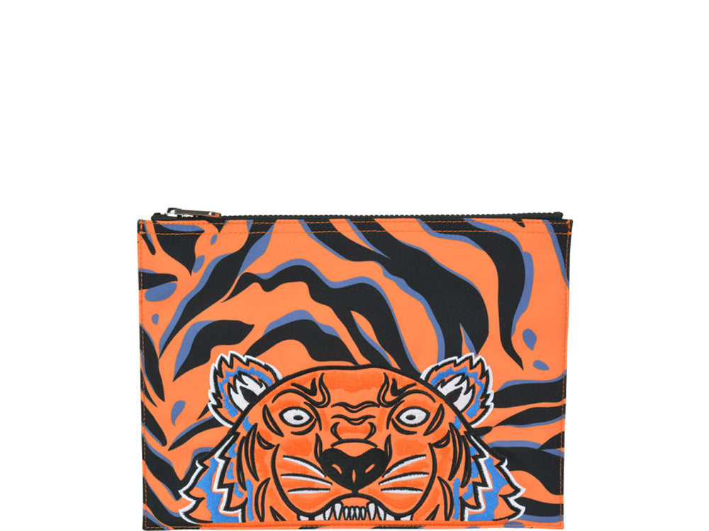 Kenzo Tiger Zipped Pouch