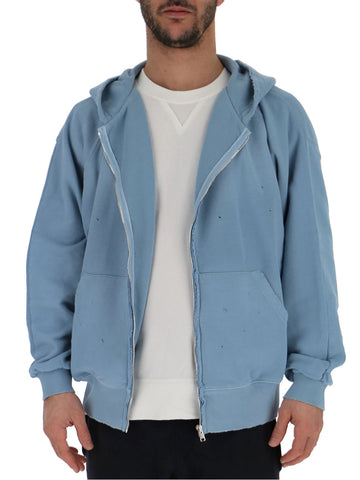 Laneus Zip-Up Hooded Jacket