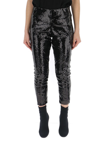 Laneus Sequins Capri Pants