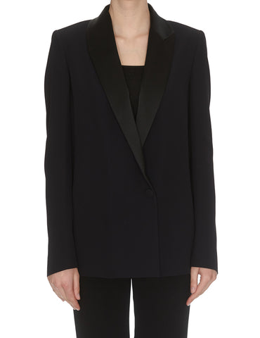 Lanvin Contrast Tailored Blazer