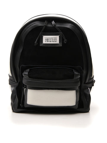 Maison Margiela Contrasting Panelled Backpack