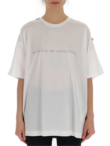 Marco De Vincenzo Rear Embellished T-Shirt
