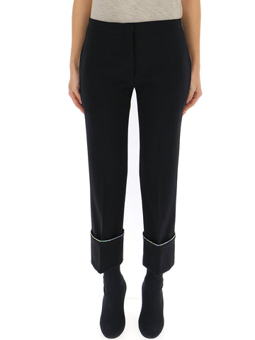 Marco De Vincenzo Contrast Stitch Trousers