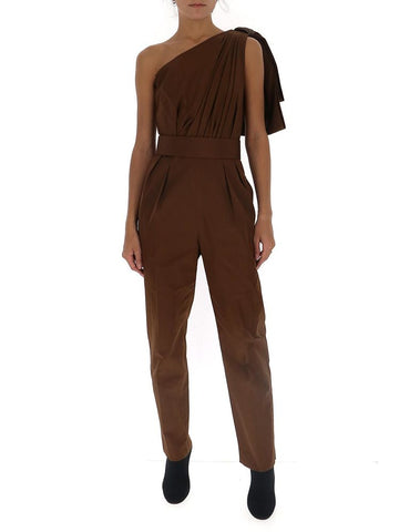 Max Mara Avola One Shoulder Jumpsuit